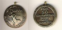 Joslin-50year-medal