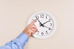 Setting-clock-ahead
