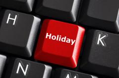 Holiday-keyboard-warning