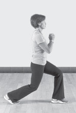 Alternating reverse lunges