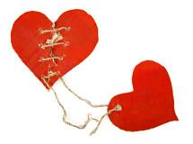 Cardboard-hearts