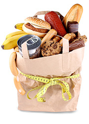Food-And-Diet-paper-bag