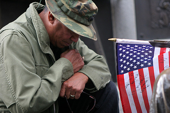 """On Veterans Day, don't let the """"invisible wounds"""" of PTSD remain hidden featured image"""