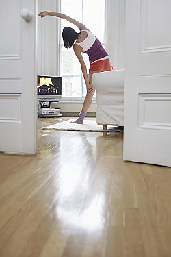 Easy exercises for couch potatoes featured image