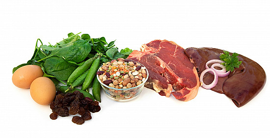 A healthy diet is the key to getting the iron you need featured image