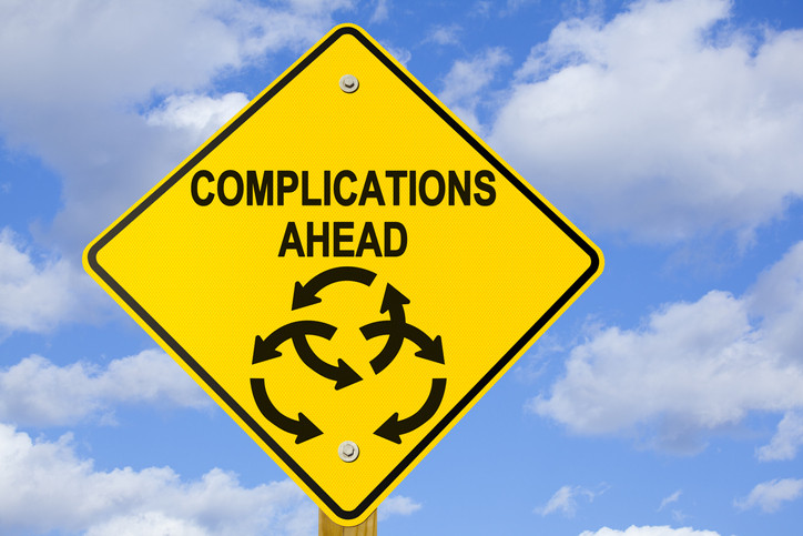 sign-saying-complications-ahead